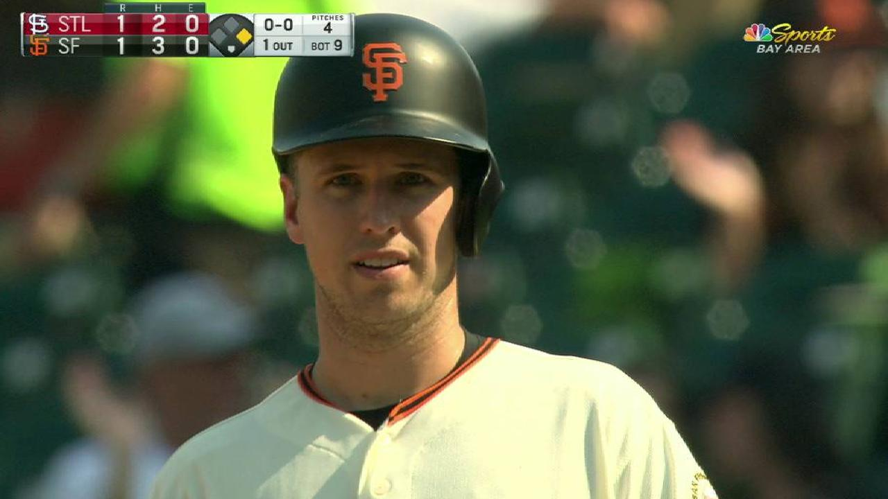 Posey's game-tying RBI single