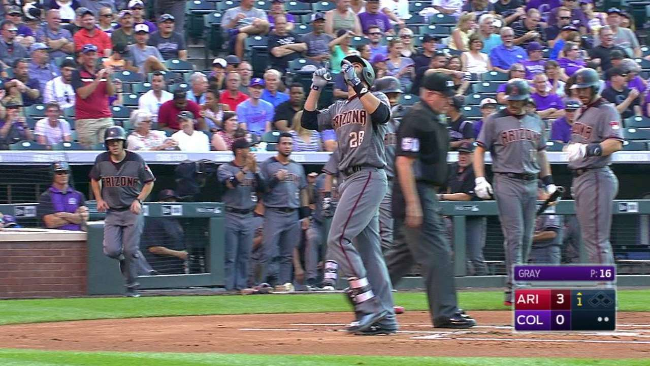 Going streaking: D-backs take it to the nines