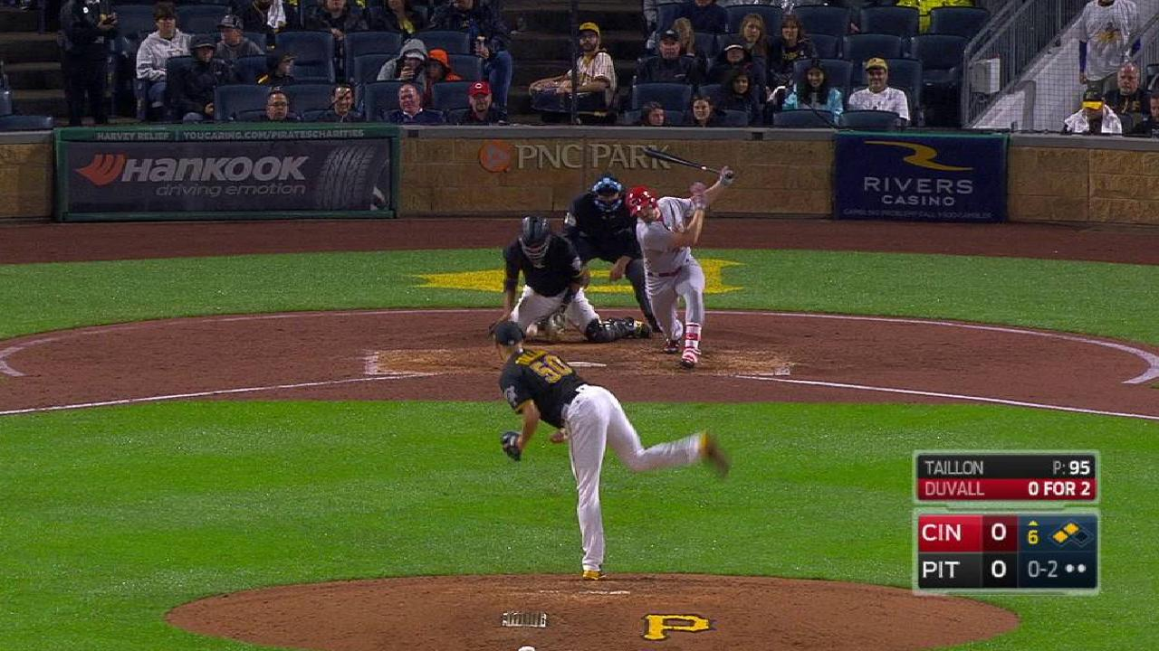 Taillon K's Duvall to strand two