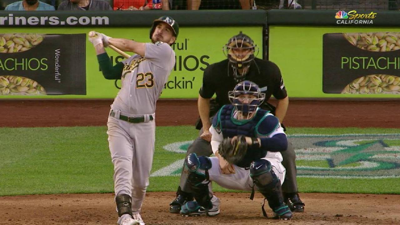 Adaptable Joyce proving a weapon for A's