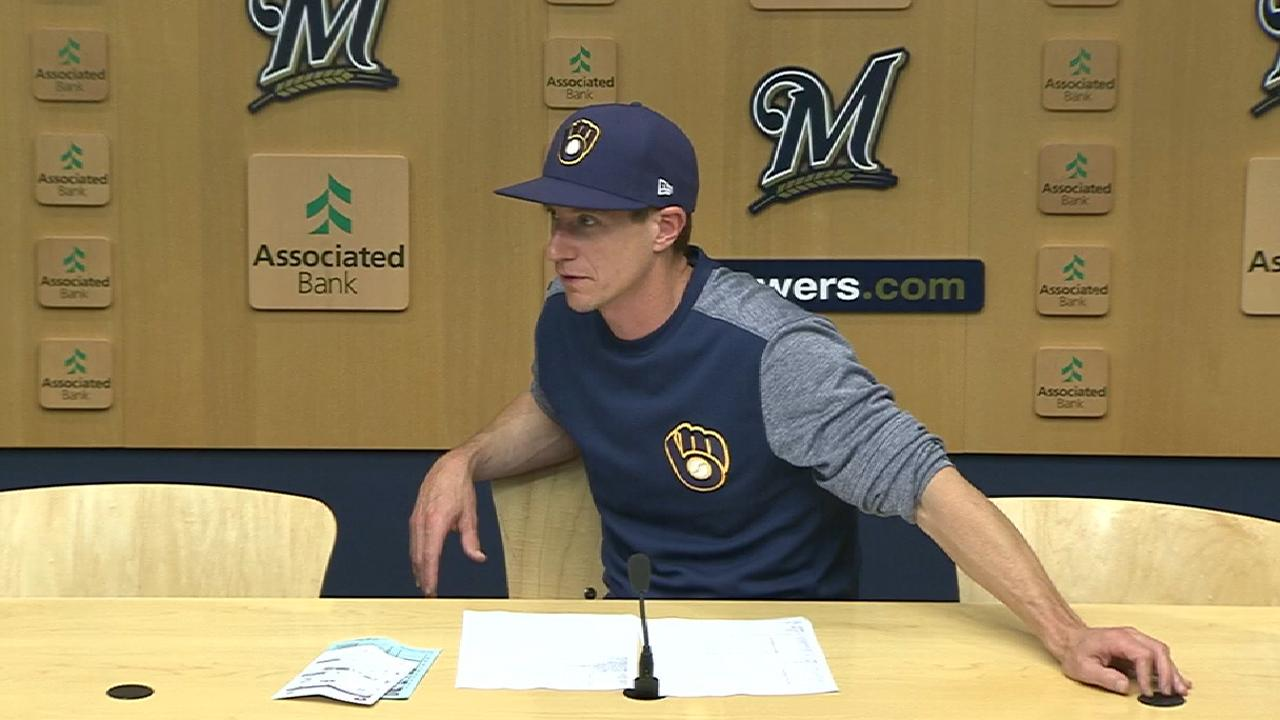 Counsell on loss to Nationals