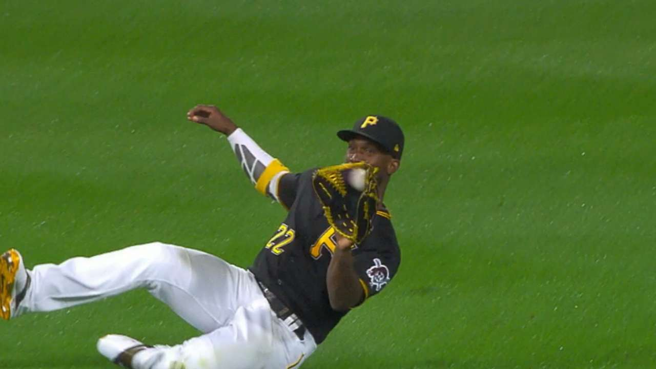 Cutch puts on a show in center