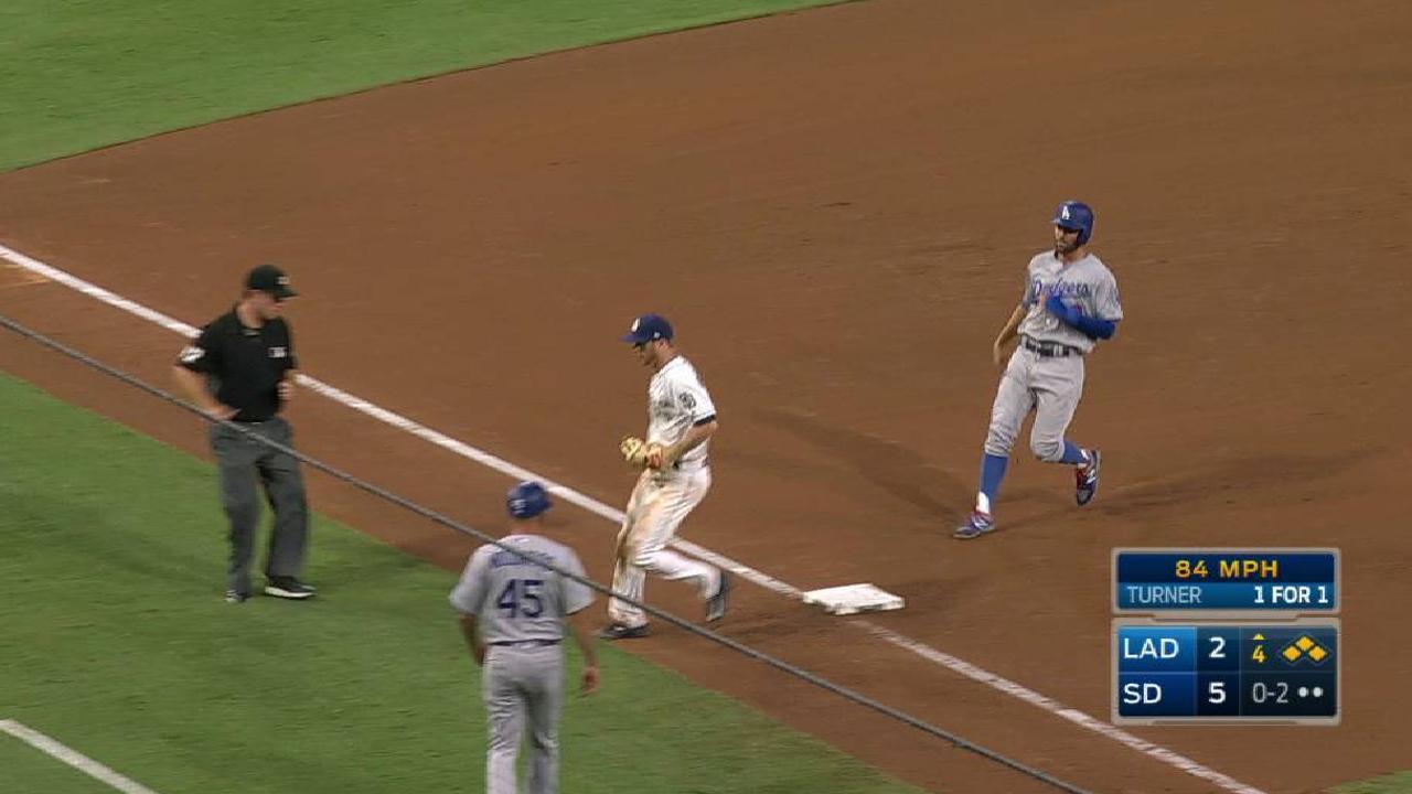 Lyles escapes a bases-loaded jam