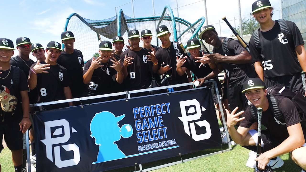 Top 14U players match up in Perfect Game