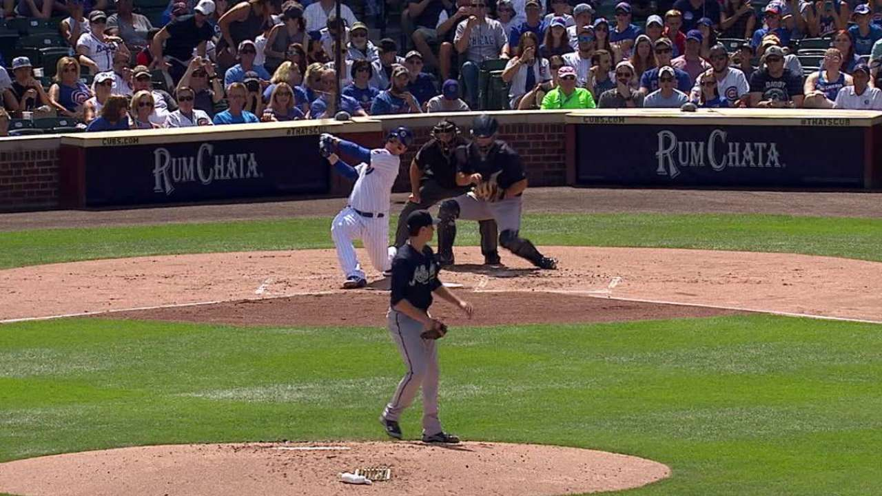 Fried strikes out Rizzo