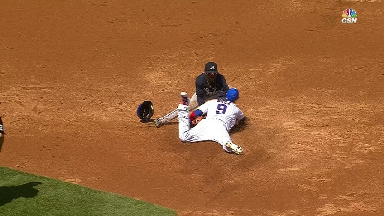 Baez sits out, but not because of blurred vision