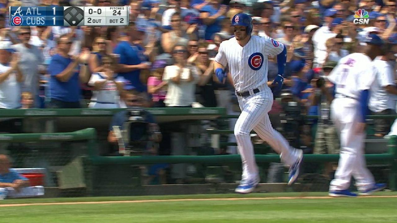 Happ's solo home run