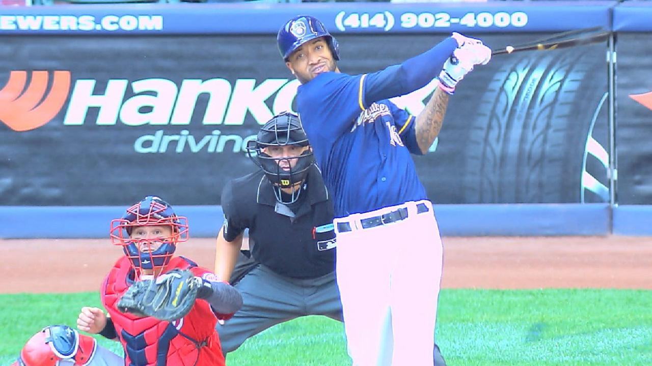 Santana's second home run