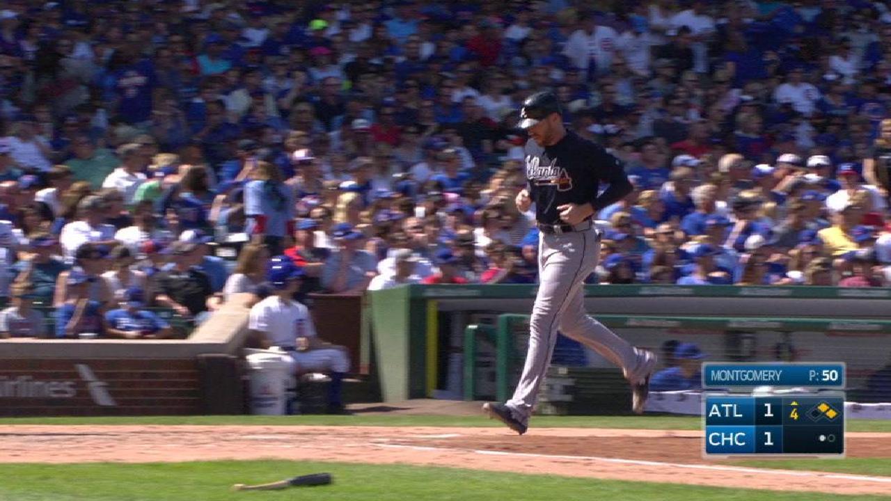 Braves' Fried halts Cubs' streak in 1st start