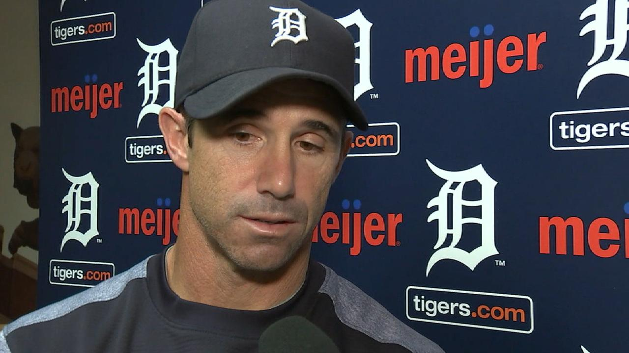 Ausmus on loss to Indians