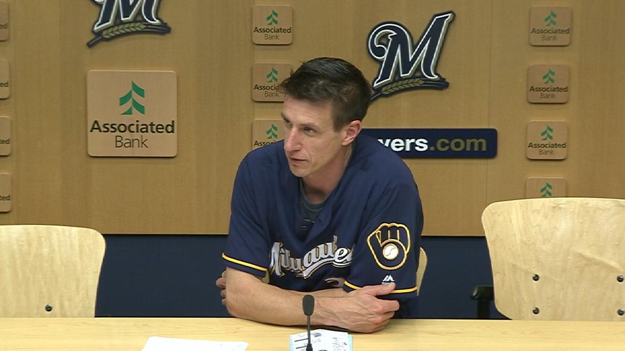 Counsell on Santana's offense