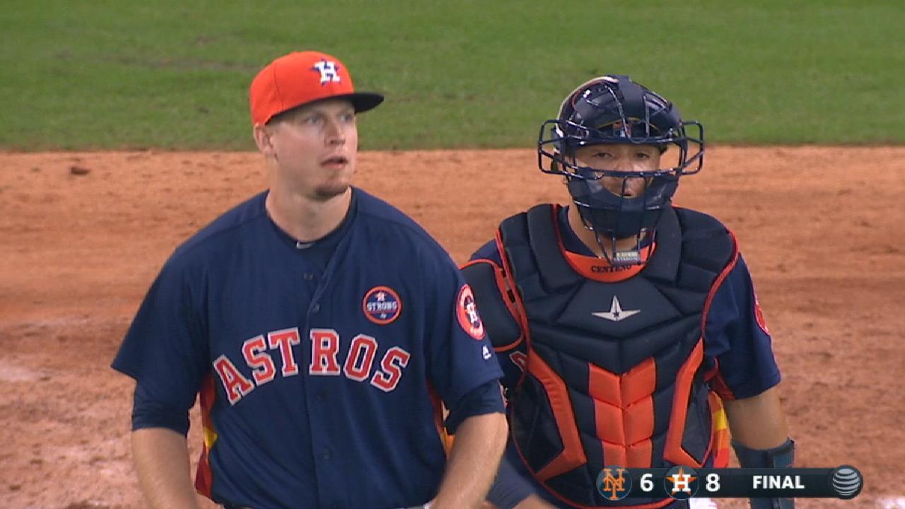 Devenski notches two-inning save