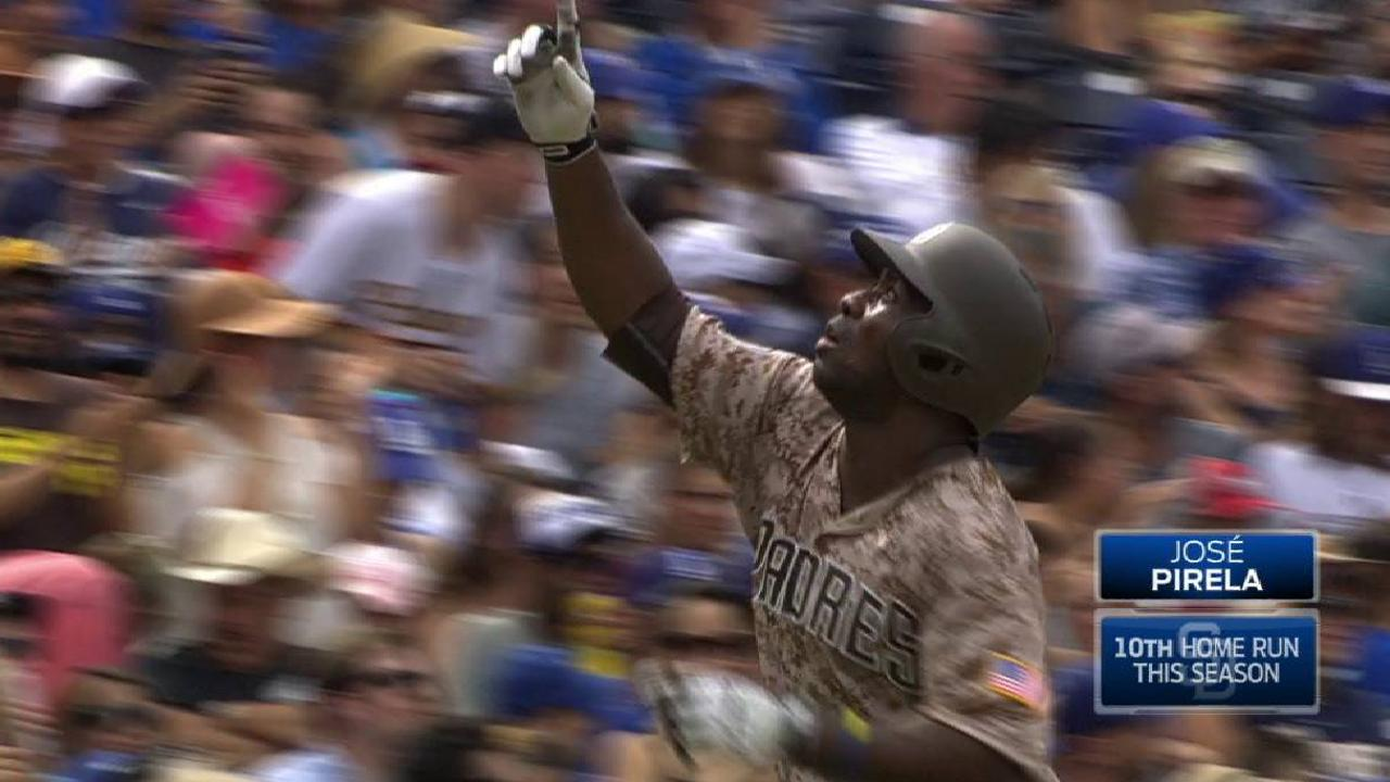 Pirela a solid choice for Most Improved Padre