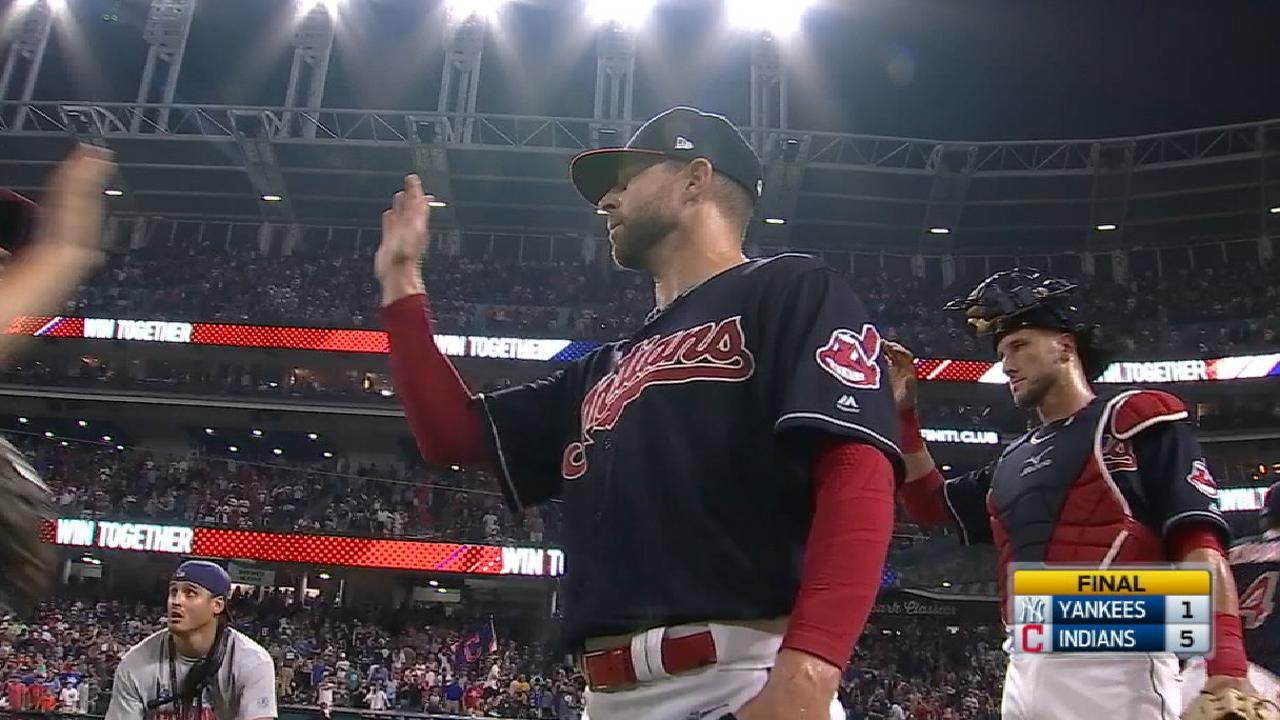 AL Pitcher of the Month: Kluber