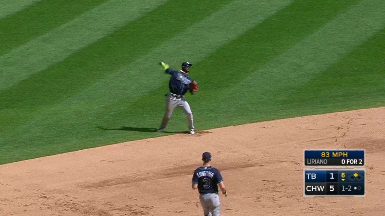 Rays' defense dazzles with smart positioning