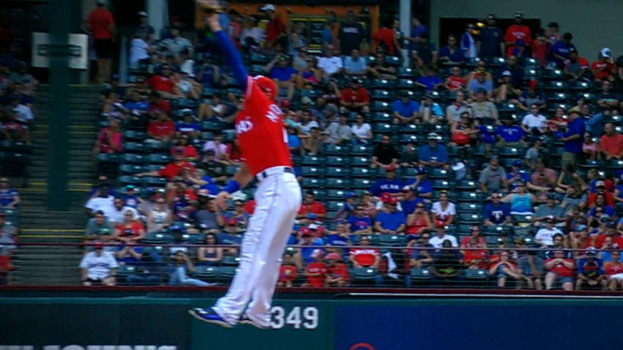 Middlebrooks' terrific catch