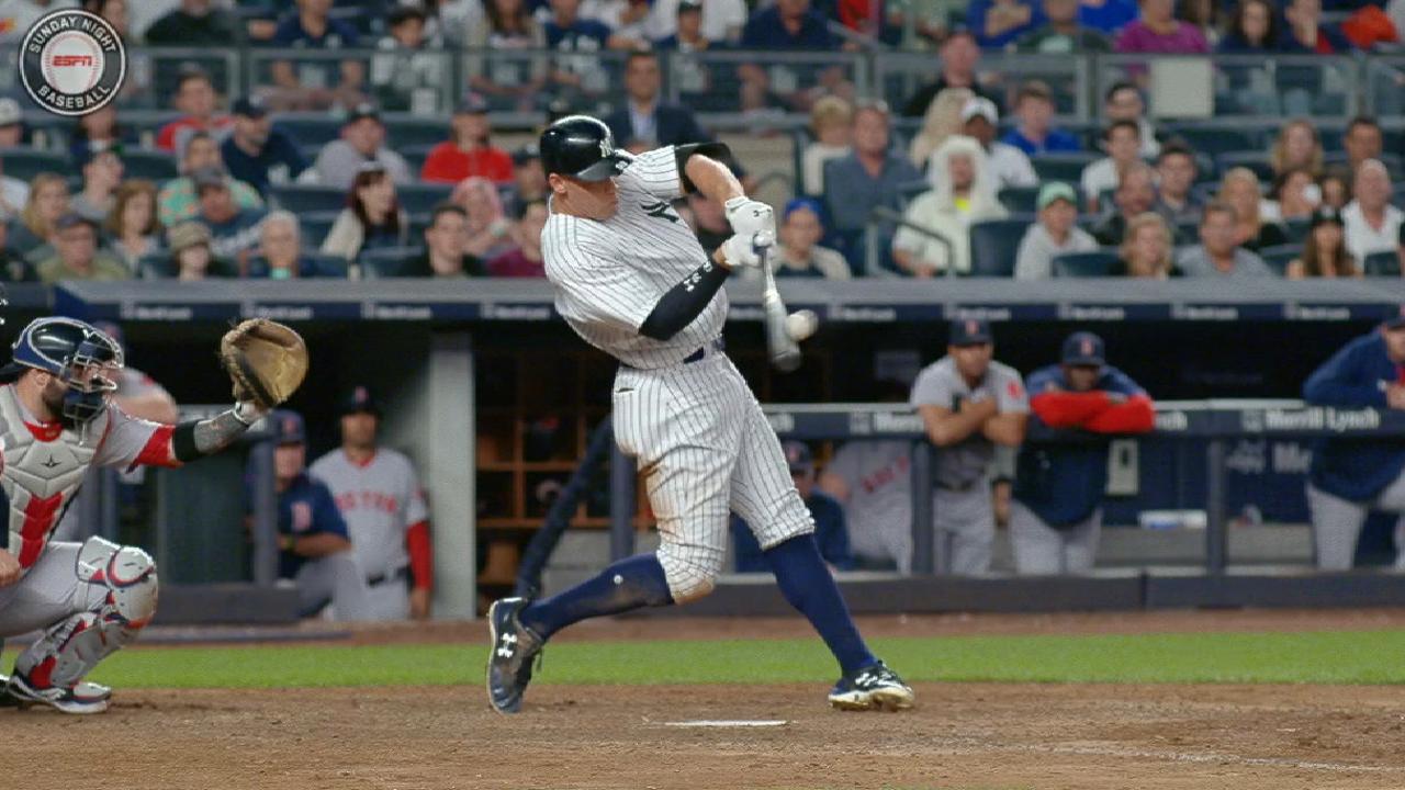 Judge's massive two-run homer