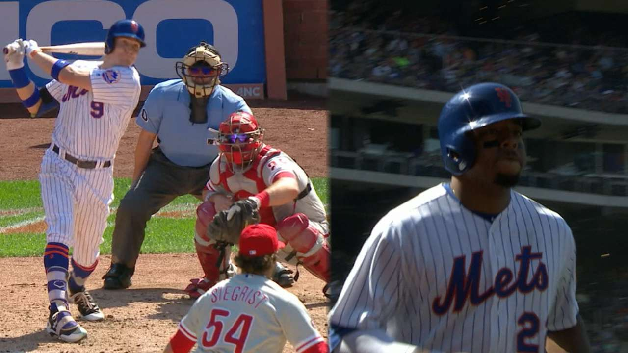 Mets outslug Phils on strength of 6-run 4th