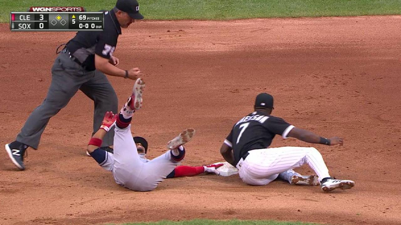 Lindor out after call stands