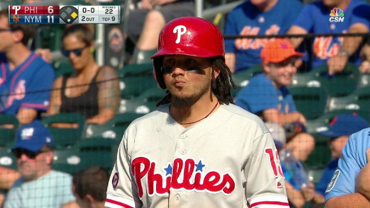 Galvis' RBI single to left