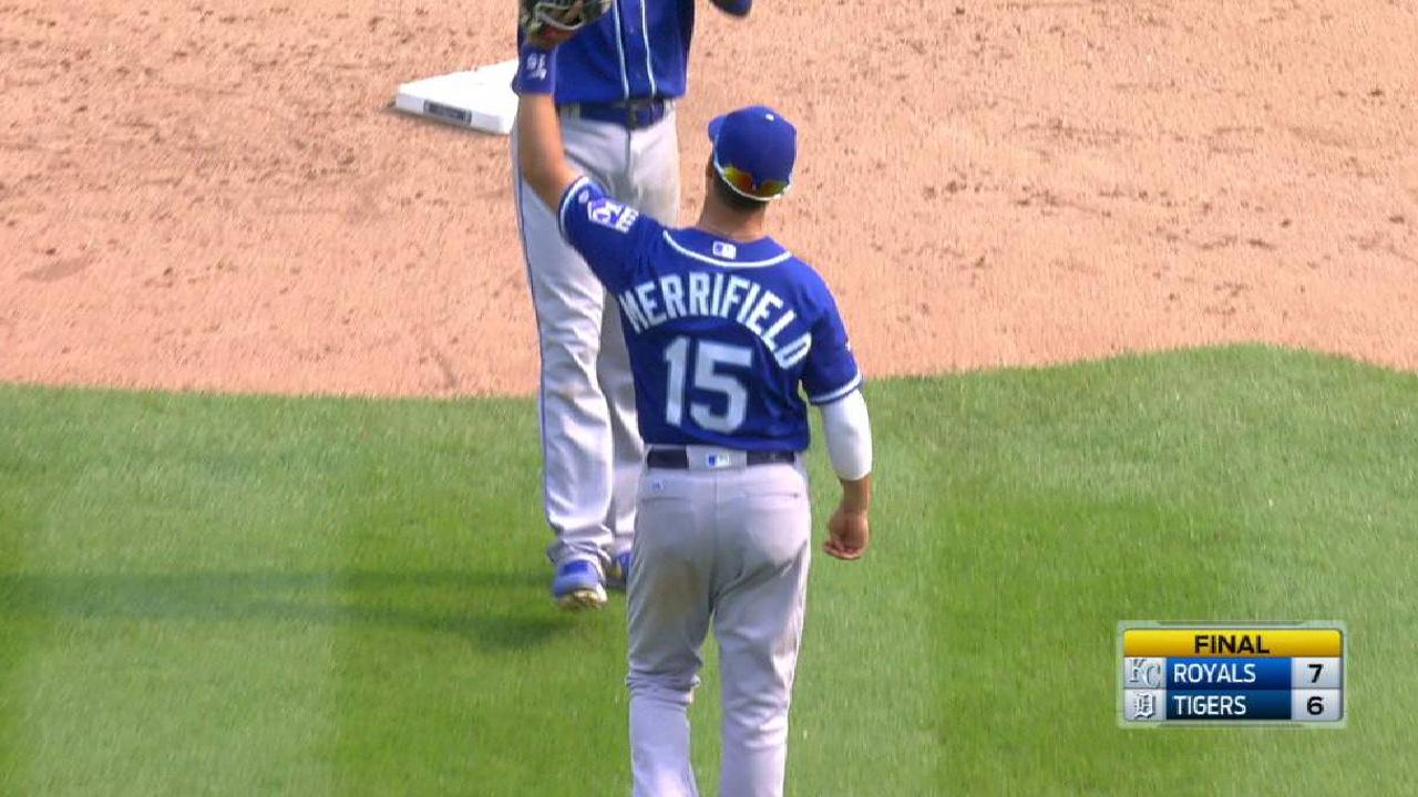 Reliever Alexander proving clutch for KC