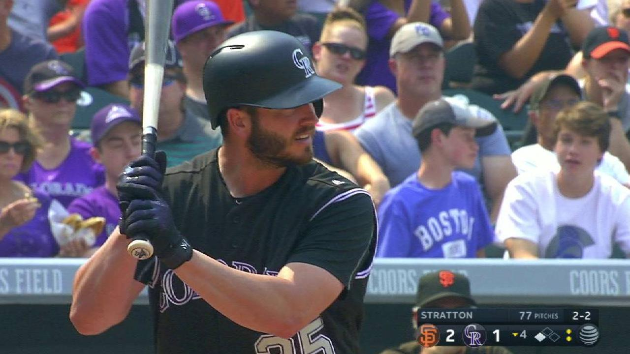 Bettis helps Rockies break out of RISP funk