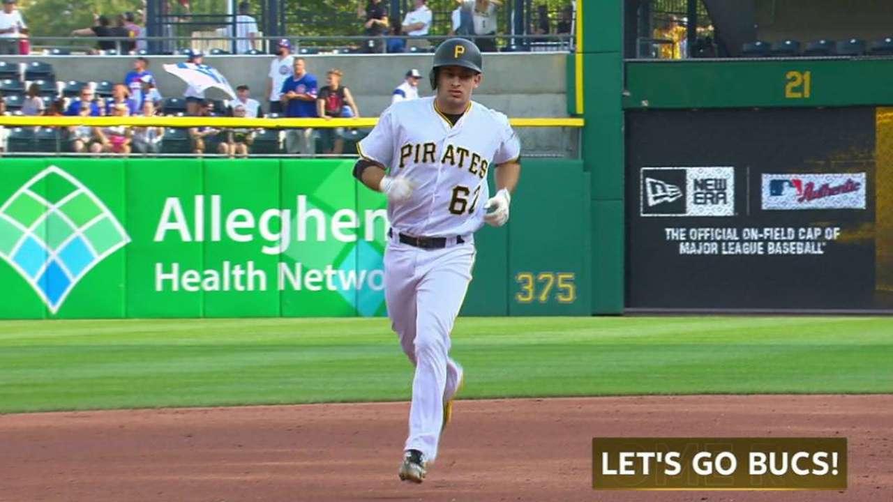 Moroff's solo home run