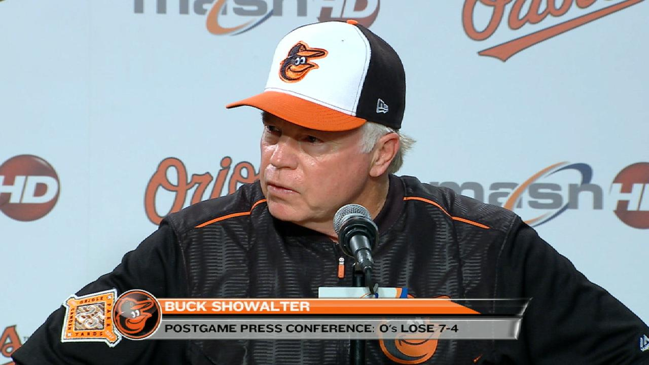 Showalter on Bundy's outing