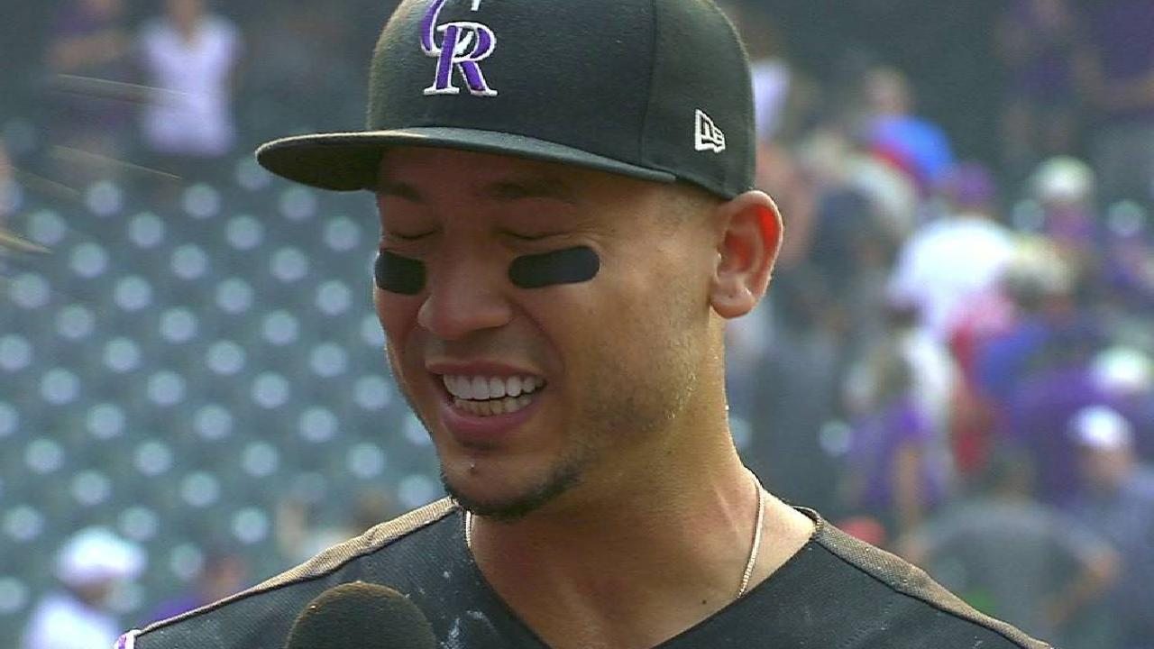 CarGo on walk-off win for Rox