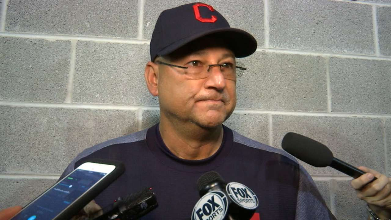 Francona on Bauer, offense