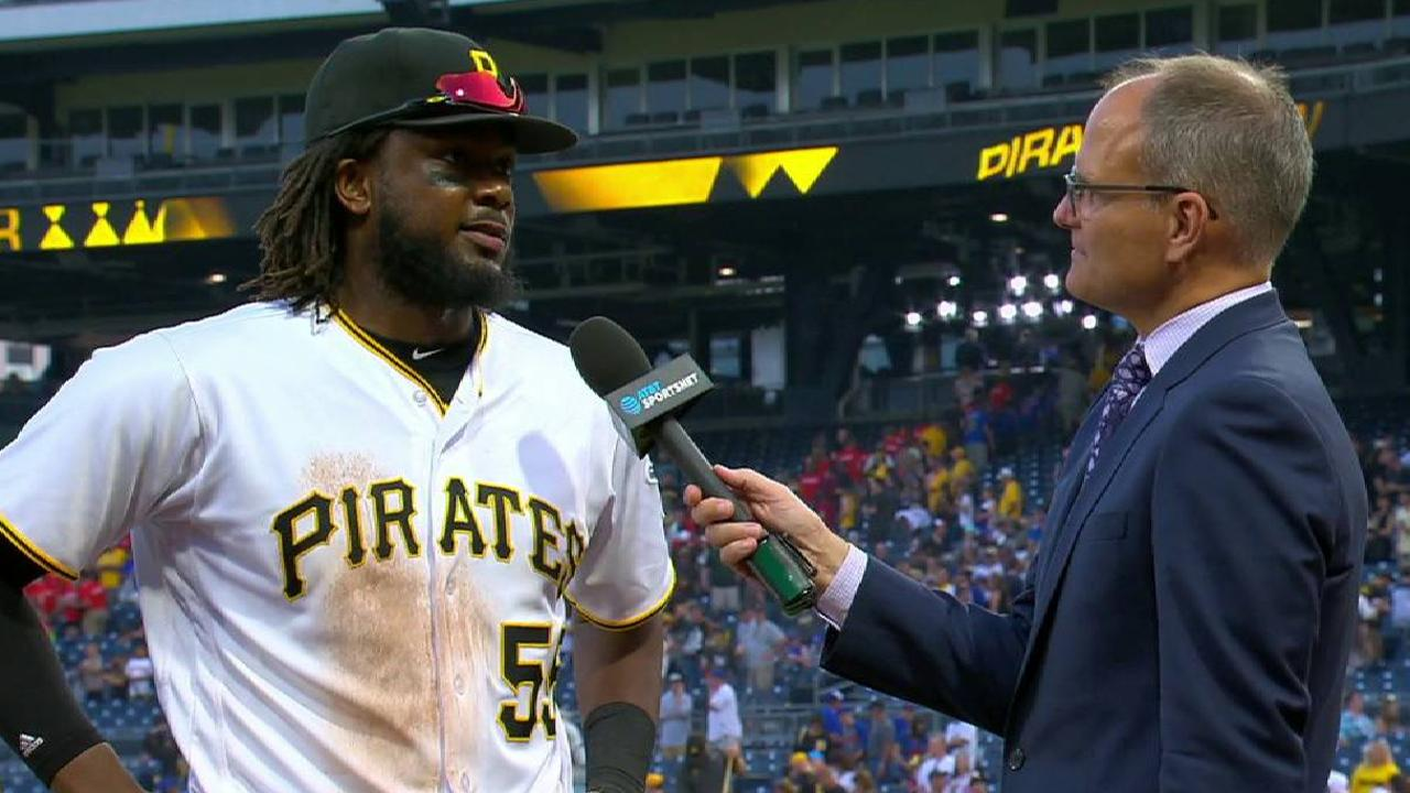 Bell on the Pirates' 12-0 win