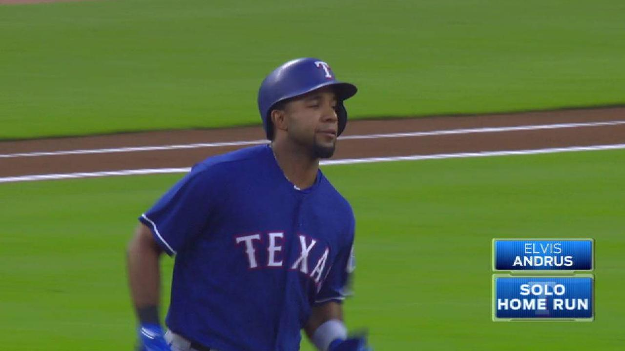 Andrus' solo home run