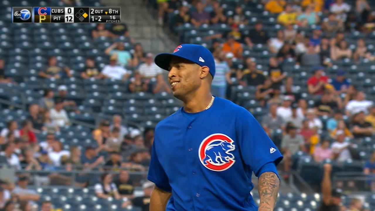 Martin takes hill in Cubs debut