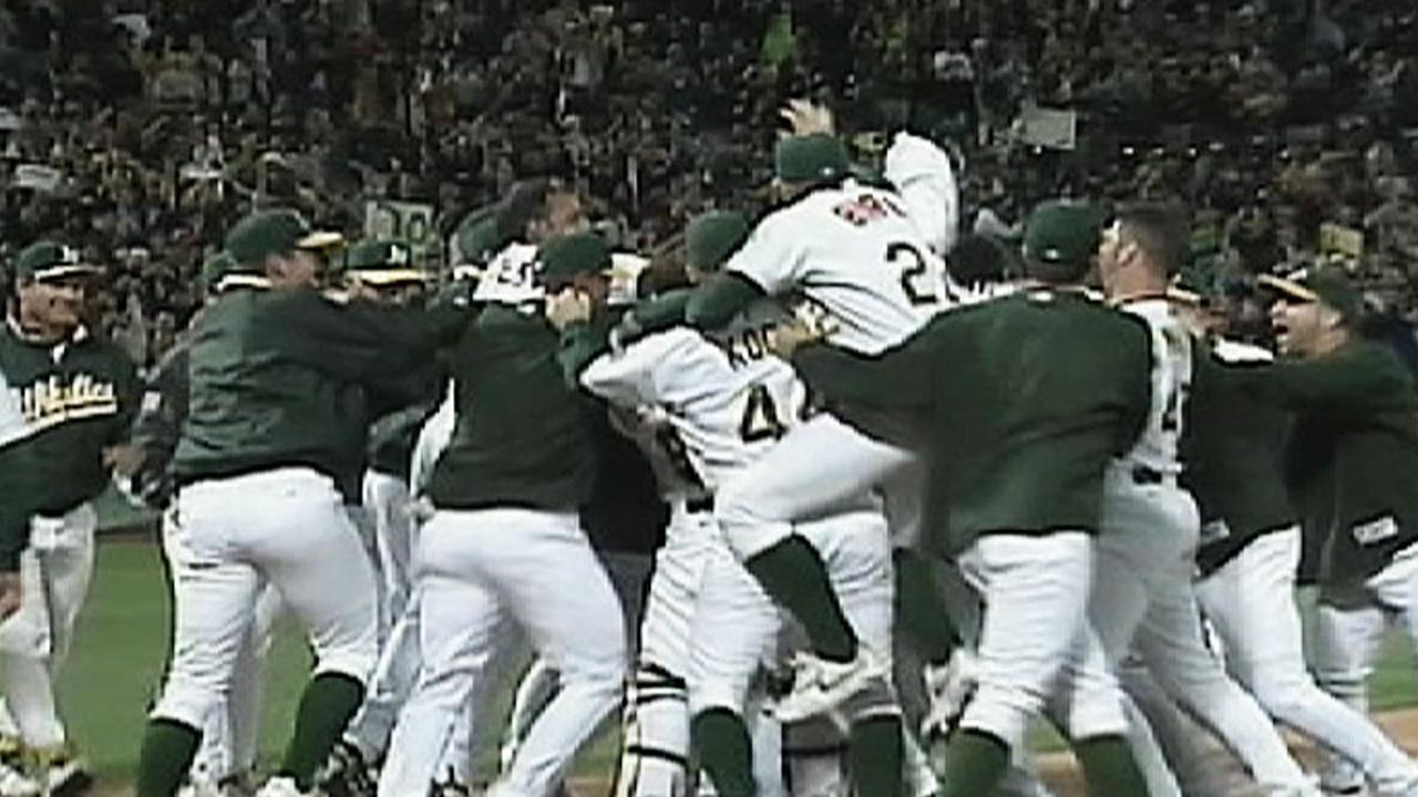 2002 A's Win Streak: Win No. 20