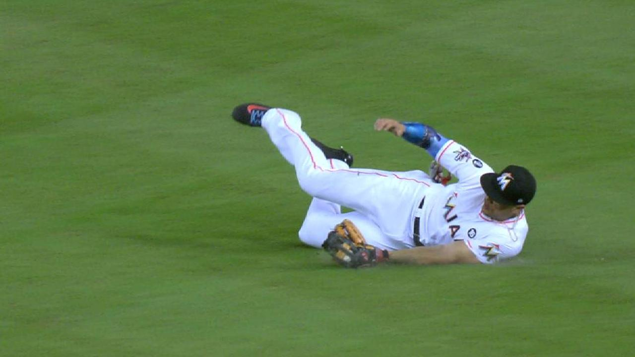 Stanton's outstanding catch