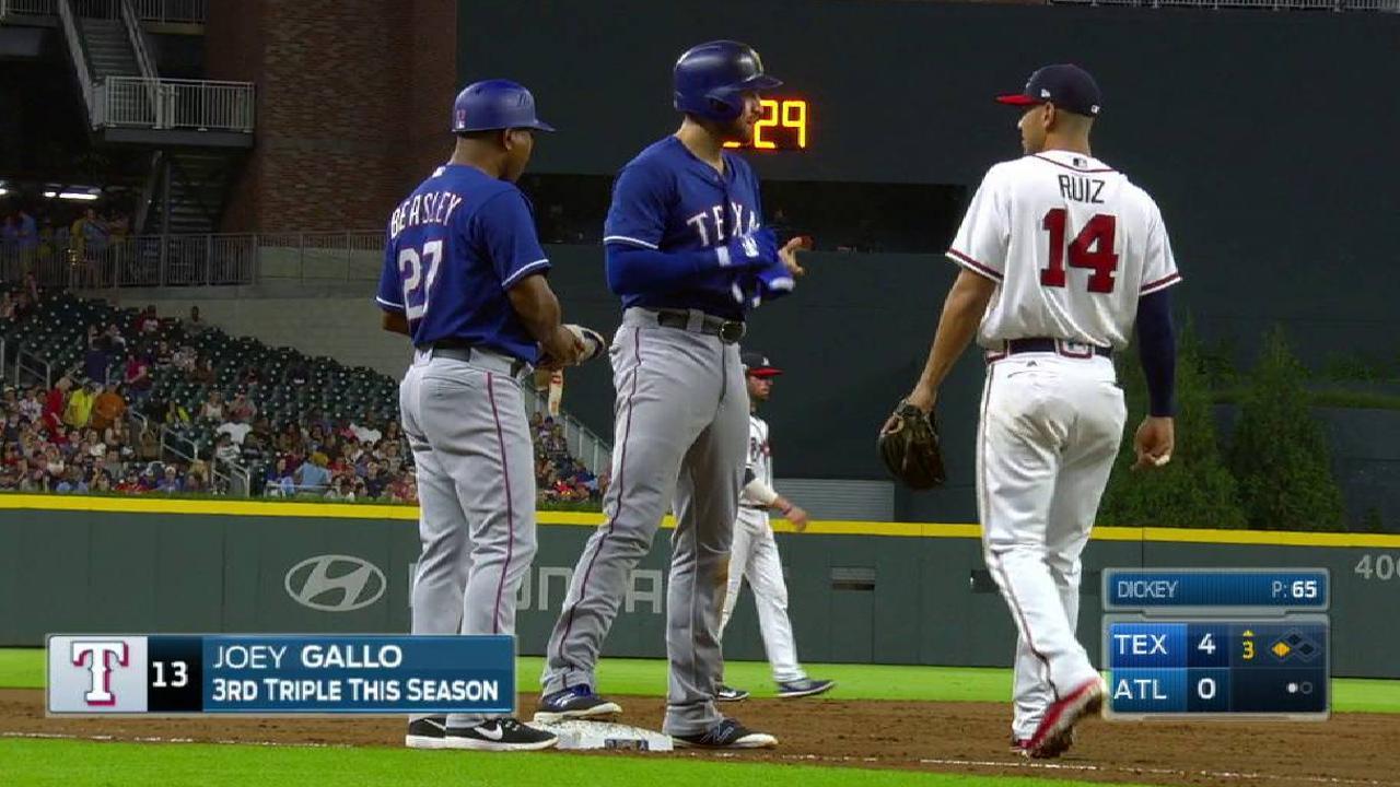 Gallo's RBI triple