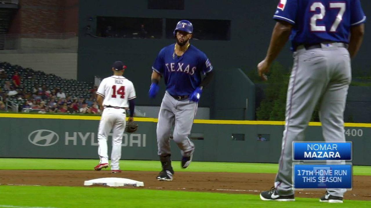 Mazara's solo home run