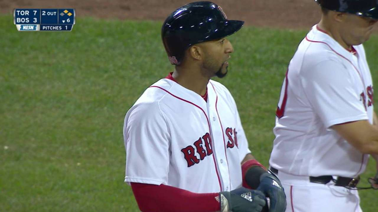 Boston's East lead shrinks with loss to Jays