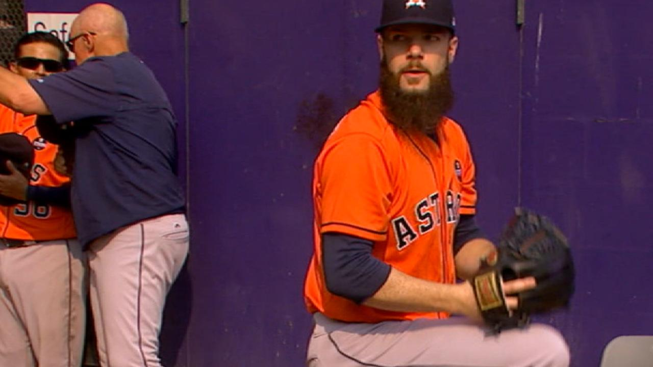 Keuchel's gem vs. M's runs Astros' streak to 5