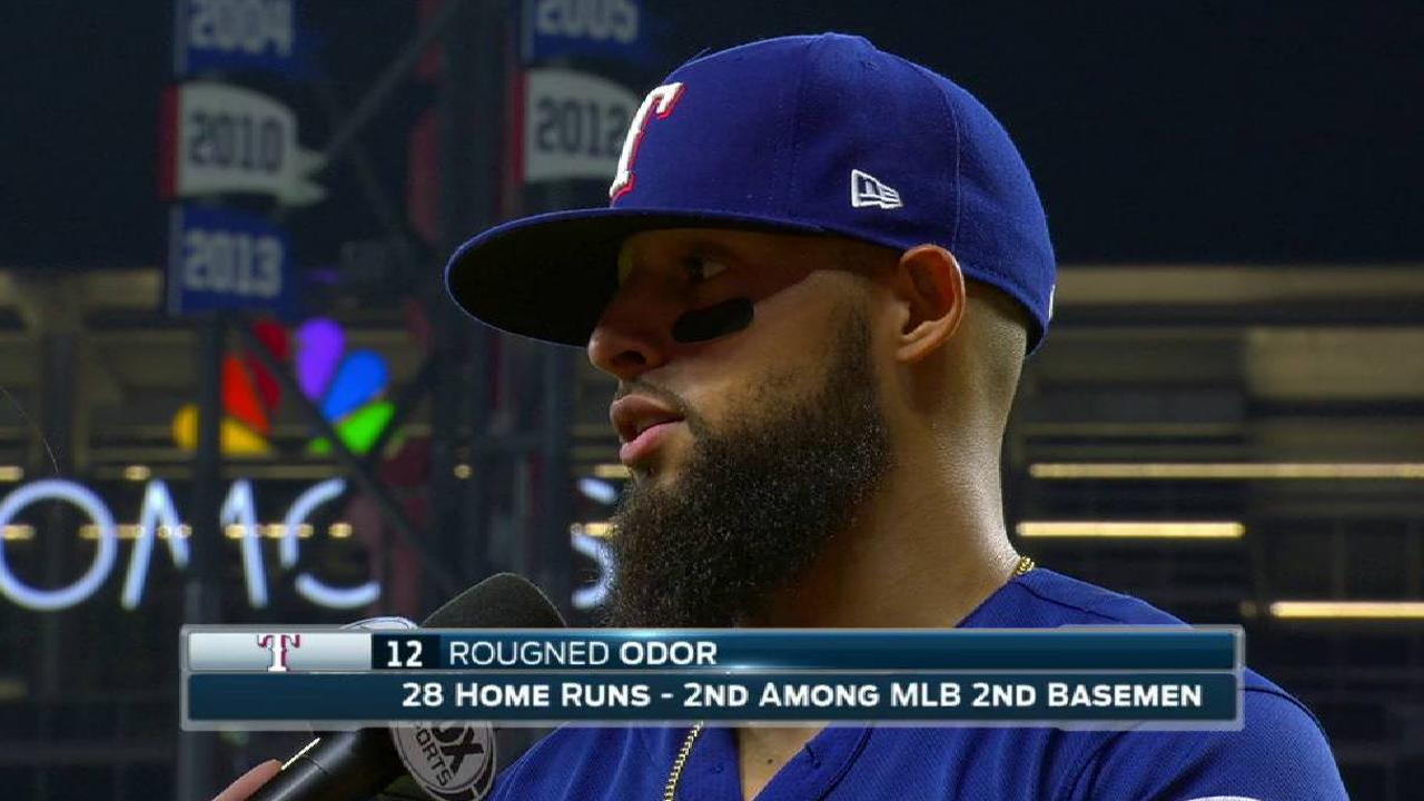 Odor on the 8-2 win