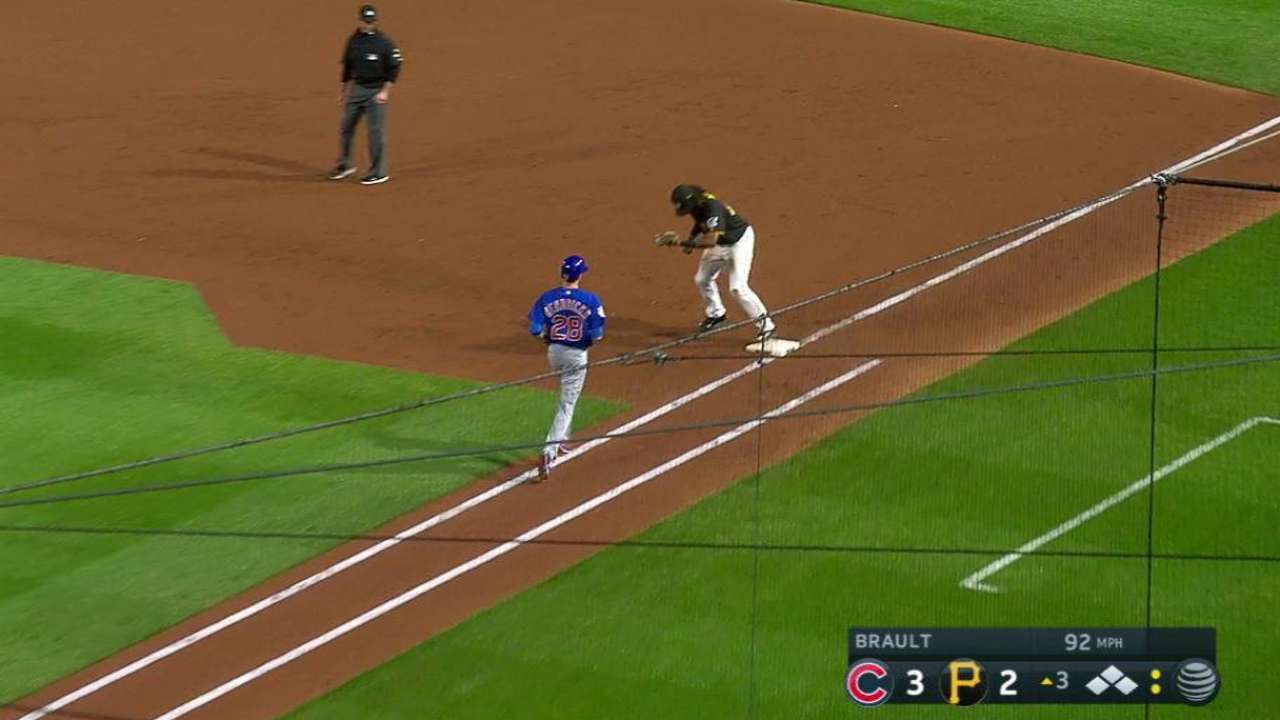 Brault escapes big jam in 3rd