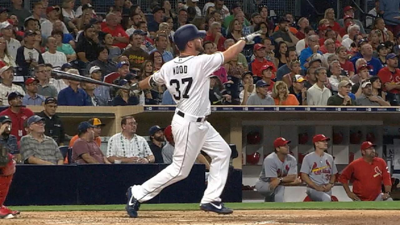 Wood's two-run home run