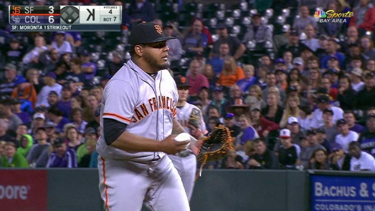 Moronta, Gomez called up, make MLB debuts