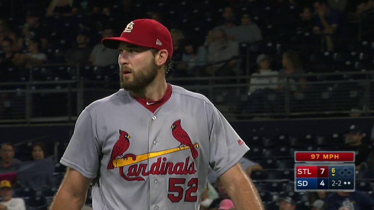Wacha strikes out Hedges