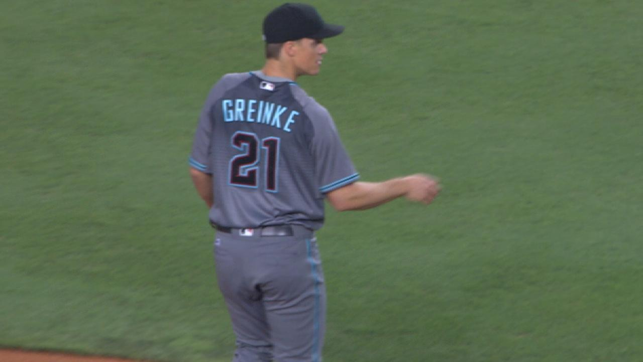 Greinke's dominant outing