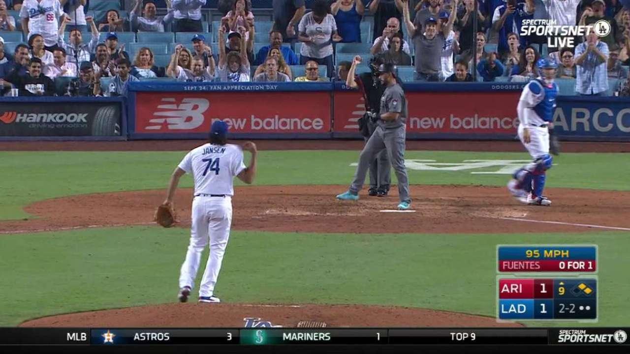 Dodgers taking cold streak in stride