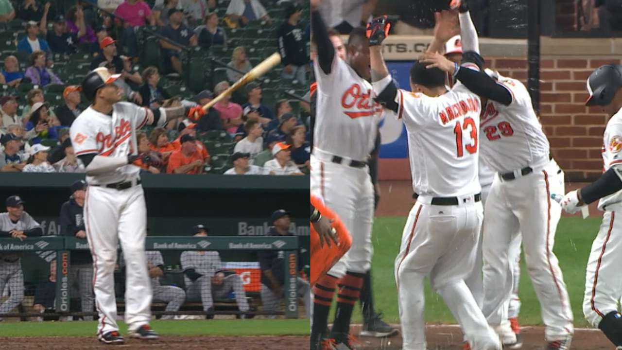 Must C: Machado's jacks lift O's