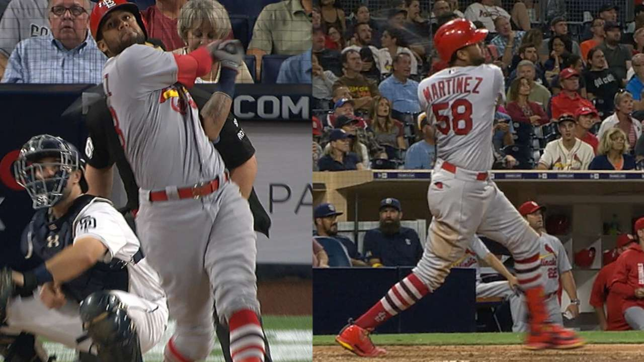 Cards thump Padres with 2 HRs from Jose