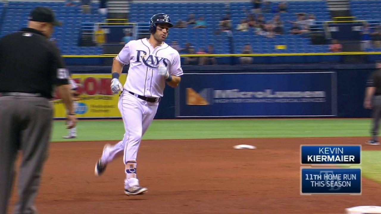 Kiermaier's two-run homer