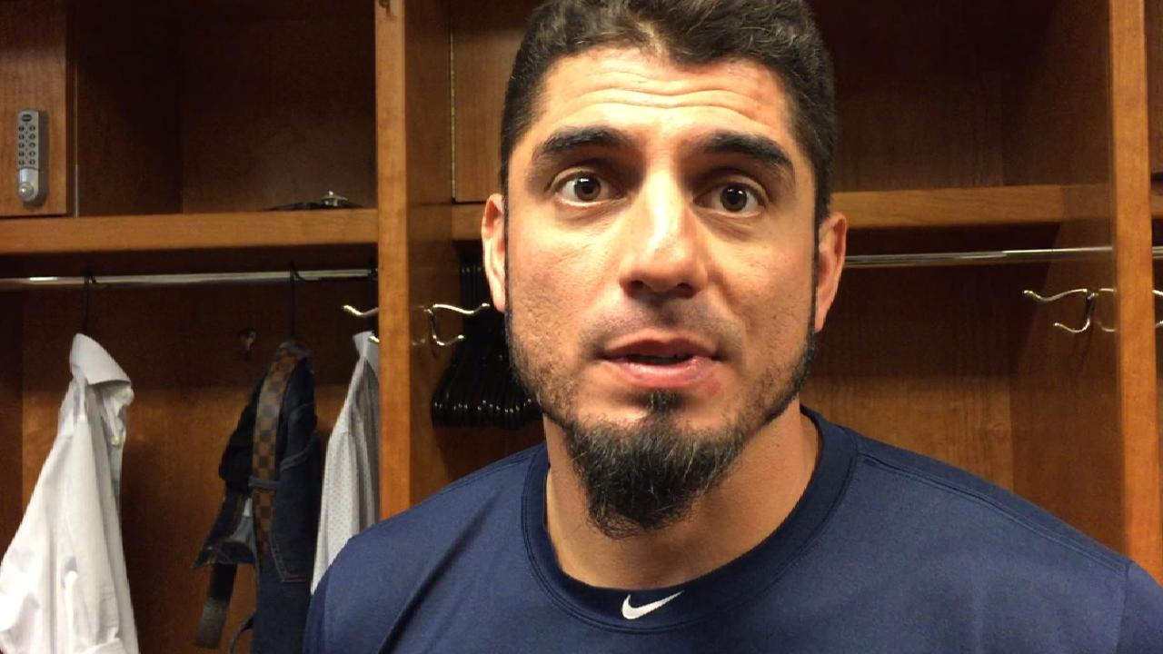 Garza on loss to Reds